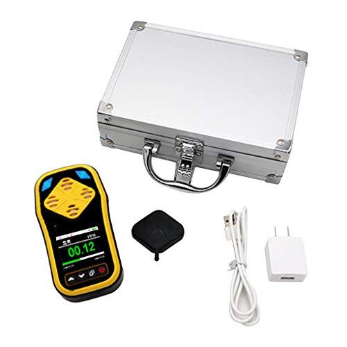 S-TROUBLE Ozondetektor Ozonmesser Handheld Tragbarer Ozongas-Tester Ozonkonzentrationsdetektoren mit schneller Erkennung mehrerer Alarme
