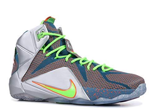 Nike Lebron XII Elite Men US 10 Multi Color Basketball Shoe