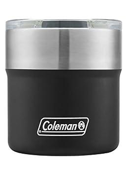 Coleman Sundowner Insulated Stainless Steel Rocks Glass Black 13 oz.