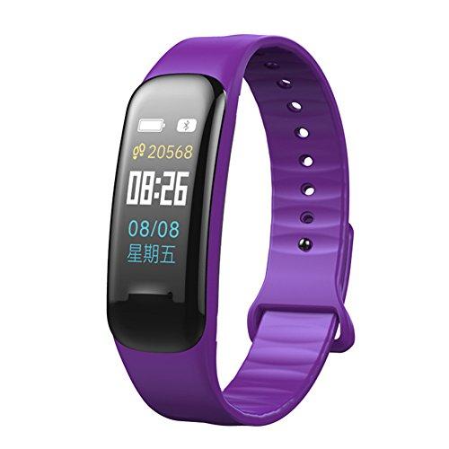 Kleur Scherm Fitness Tracker Sport Smartwatch Hartslag Bloeddruk Monitor