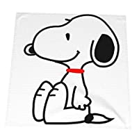 BelleE Peanuts スヌーピー ランチクロス 50*50cm ナプキンクロス ランチョンマット 給食ナフキン お弁当箱包み 布を拭く お弁当クロス ティータオル 食事マット 洗濯可能 方形 おしゃれ レストラン 業務用 家庭用2pcs/4pcs