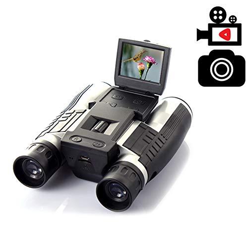 BAIVIT 12X32 Jumelles Appareil Photo Numérique Télescope Moniteur LCD Multi-Fonction Caméra Vidéo/Vidéo/Voyage/Pique-Nique
