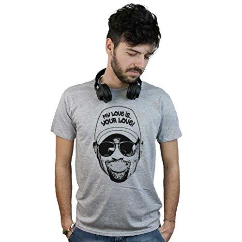 T-Shirt Dj Godfather of House Music, Maglietta Disco, Pop Art