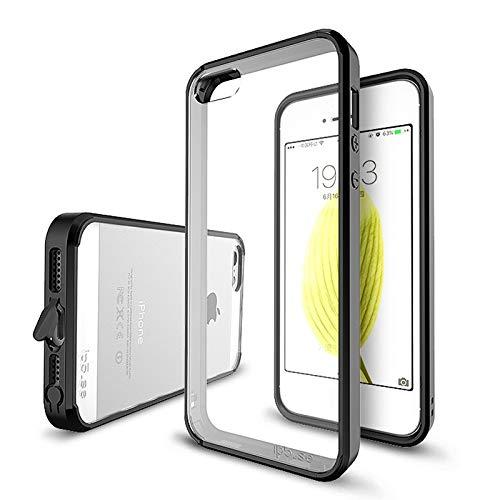 RZL Teléfono móvil Fundas Para iPhone 12 MINI Pro Max, la parte posterior transparente cubierta Para el caso de TPU fina a prueba de polvo de silicona cubierta ultra teléfono Para el iPhone 11 Pro Max