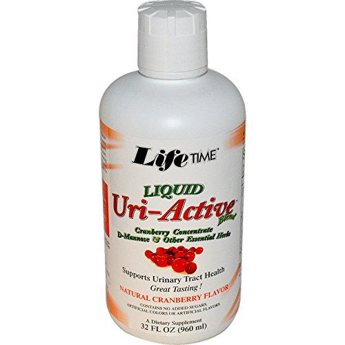 Lifetime Uri-a Countive with Asparagus & Cranberry Liquid Cranberry, 32 Fluid Ounce