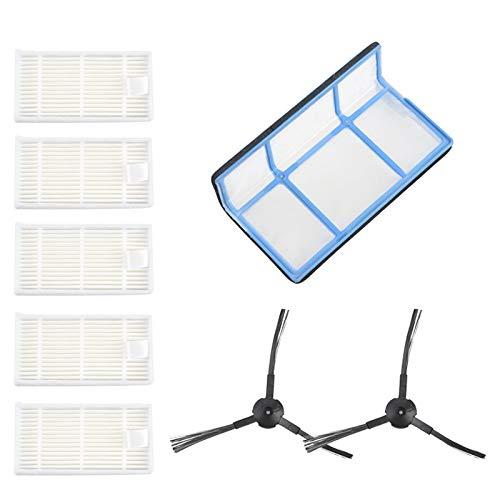 Nrpfell Brosses de Filtres à Vide pour Medion MD16192 MD18500 MD18501 MD18600 PièCes D'Aspirateur Nettoyage Domestique