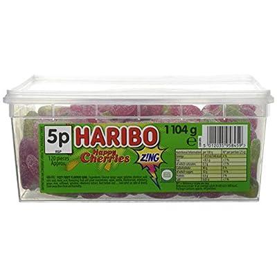 haribo sour cherries 120 pieces per tub Haribo sour Cherries 120 Pieces Per Tub 41szKzhDPEL