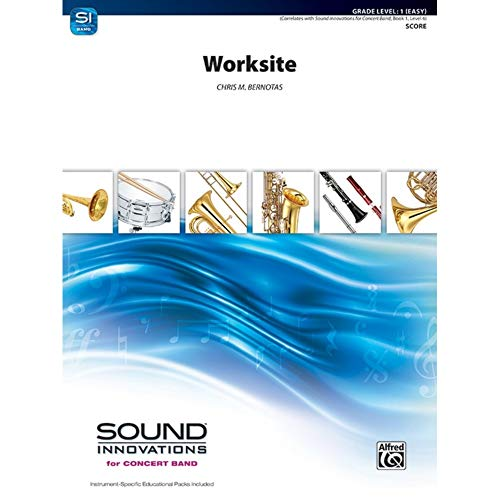 Worksite–Concert Band–SCORE