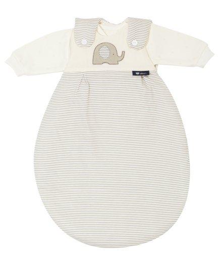 """Alvi 445333236 Baby Mäxchen, 3 - teilig, Super-Soft """"Elefant"""", beige, 56/62"""