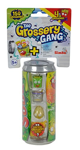 Simba 109291001 - Grossery Gang Sammelfiguren, 4er Pack in Dose