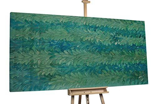 'Meeresrauschen' 200x100cm | Abstrakt Meer Blau Türkis | Modernes Kunst Ölbild