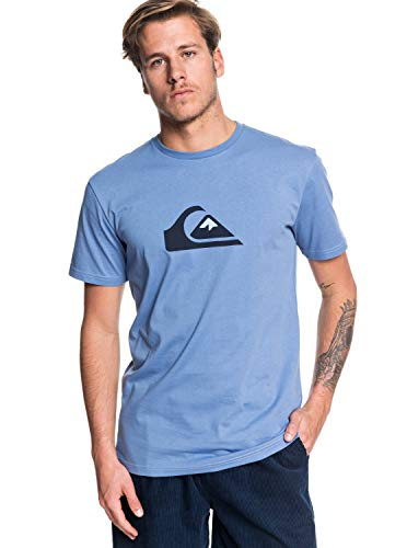 Quiksilver Herren Comp-T-Shirt für Männer, Quiet Harbor, S