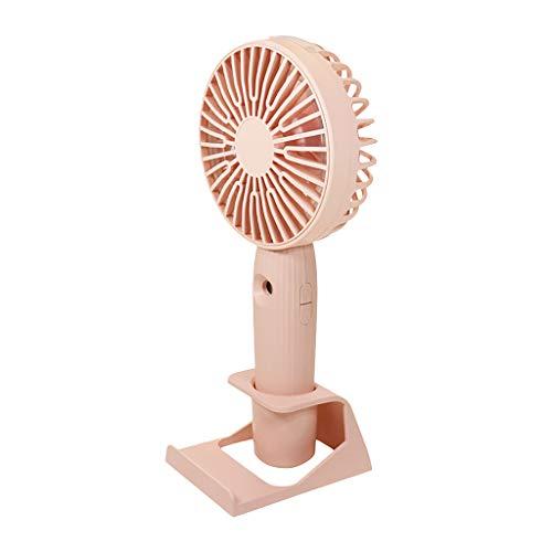 ROVNKD Fan LüFtersteuerung USB Hand Mini Wind Power Ultra Leise und Komfortabel Student Office(Rosa,)
