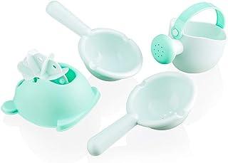 GUTSBOX Zestaw zabawek kąpielowych, 4 sztuki, nie zawiera BPA, zestaw upominkowy, zabawka do kąpieli, wanna, zabawka dla n...