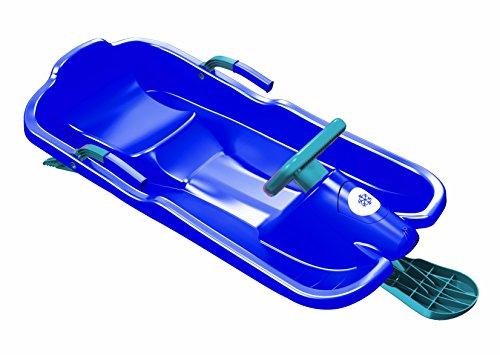 Plastkon Slitta orientabile con sterzo Sledge Bob, Blu, 41107631