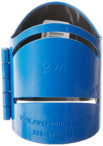 Pipe Pro Metal Cutting Guide - 2-7/8' - Blue