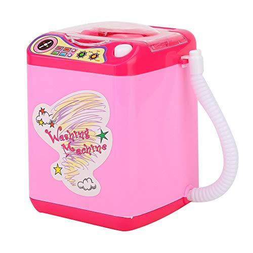 lavatrice mini per spugnette make up Mini lavatrice portatile a 2 colori di simulazione per pennelli da trucco con funzione di disidratazione - Lavatrice a rapida pulizia e asciugatura rapida(01)
