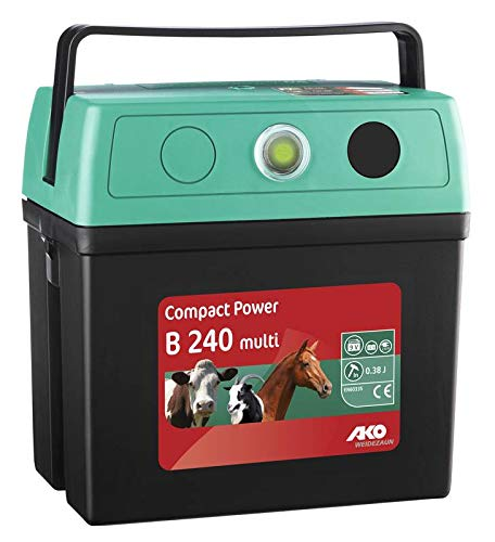 AKO Weidezaungerät Compact Power B240 multi 9/230 Volt mit Netzadapter
