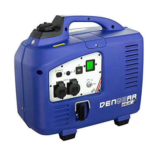 DENQBAR 2,5 kW Inverter Stromerzeuger Notstromaggregat Generator mit eBLUE® Technologie & E-Start