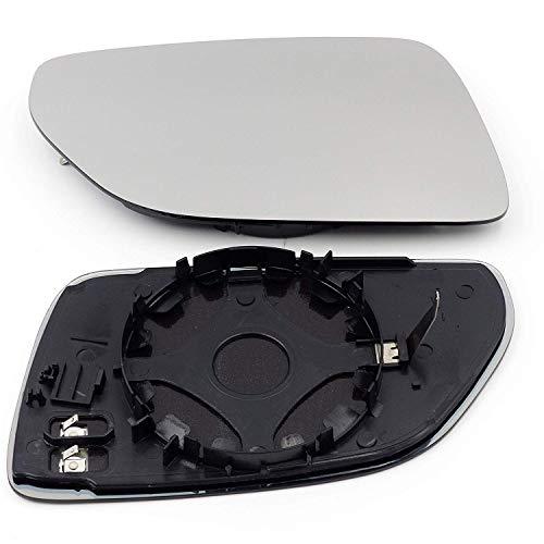 QSParts 4765 Spiegelglas Außenspiegel heizbar rechts Beifahrerseite Polo 9N Facelift