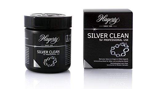 HAGERTY - Silver Clean Personal Use - bagno per la pulizia profonda dei gioielli in argento. Rinnova la lucentezza e ritarda l'ossidazione dei gioielli