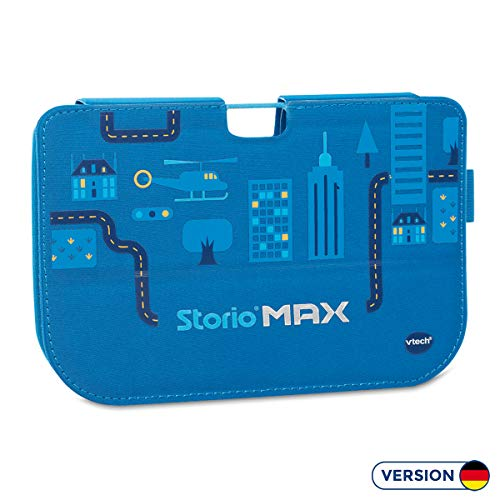 VTech 80-218549 - Accessoires voor Tablet - Storio MAX 5 inch, siliconen hoes, blauw