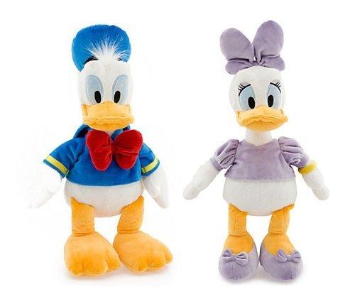 Walt Disney Classic Donald Duck & Daisy Duck 18' Plush Set