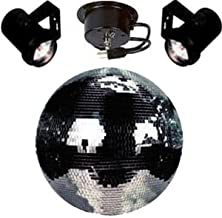 Disco Ball Party Kit with 16