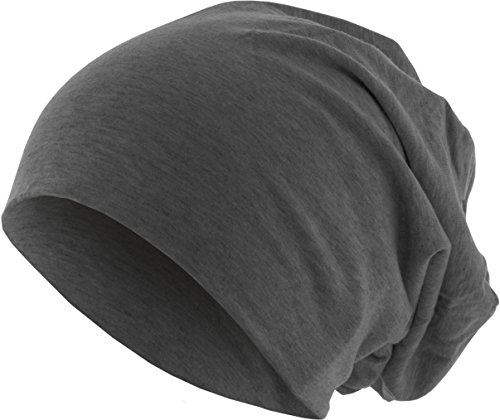 MSTRDS Jersey Beanie Bonnets en Mailles, Grau (Heather Charcoal 3419), Taille Unique Femme
