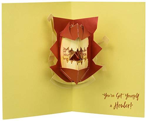 Harry Potter: Howler Pop-Up Card (Stationery)