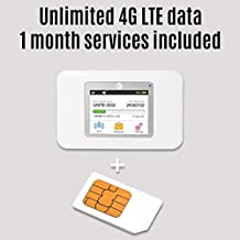 Netgear 770S 4G LTE Mobile WiFi Hotspot with AT&T Unlimited 4G LTE Data for 1 Month