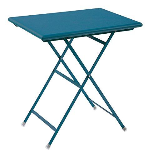 Arc en Ciel Emu table pliante cm. 50x70 Art 334 couleur Bleu clair 61