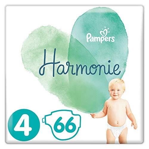 Pampers Harmonie Größe 4 66 Windeln, 9 – 14 kg