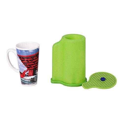 3D Sublimation Silicone Mold Mug Clamp for 12OZ Cone Mugs Heat Transfer Printing, Heat Press 12OZ Cone Mug Clamps