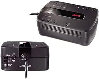 APC Back-UPS 650 VA Desktop UPS - Load Capacity: 650 VA/390 W, Full Load: 3 Min, Half Load: 12 Min, Input: NEMA 5-15P, Output: 8 x NEMA 5-15R (160016D)