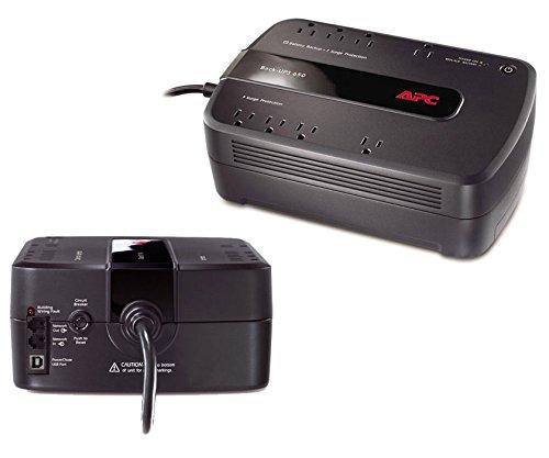 APC Back-UPS 650 VA Desktop UPS - Load Capacity: 650 VA/390 W, Full...