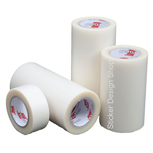 Sticker Design Shop 2,50 €/m² Übertragungsfolie ORATAPE® MT95 Application Tape 20cm x 50m Orafol Oracal