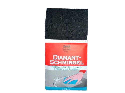 10x 6 Blatt Diamant-Schmirgel für Herd und Hobby = 60 Blatt