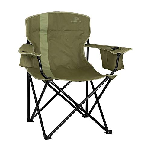 Mossy Oak heavy-duty camping chair for a heavy person