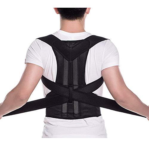 Back Brace Posture Corrector - Back Support Belt with Fully Adjustable Straps...
