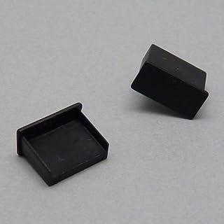 テクノベインズ USB-Aタイプ用 キャップ(黒)つまみなし 6個/パック USBCAPK-B0-6(※商品説明をご覧ください)