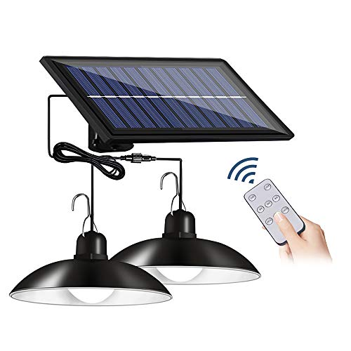 Zotonale 最新分離型 ソーラーライト 2灯式 白光 センサーライト 4800mAh超大電池容量 リモコン付き IP65防水 3つ明るさ可調整 タイマー設定付き 太陽光充電 電気代ゼロになります!
