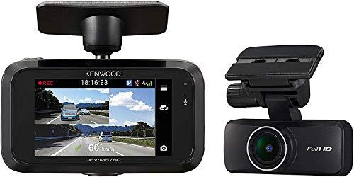 KENWOOD(ケンウッド) ドライブレコーダー DRV-MR760 ユーザーの声に反応して緊急録画を開始できる音声コマンド機能搭載 前後 2カメラ ドライブレコーダー DRV-MR760