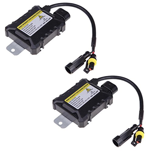 Ballast - SODIAL (R)2Pcs 35W numerique Xenon HID Conversion Ballast remplacement Slim Tous Ampoules Royaume-Uni Navire