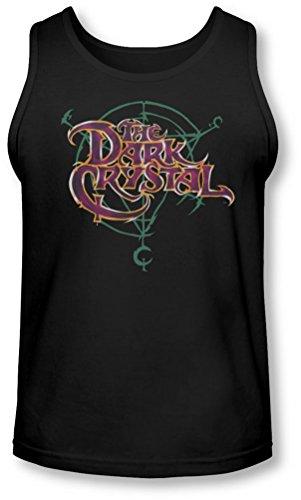 Dark Crystal - - Symbole Logo Tank-Top pour hommes, XX-Large, Black