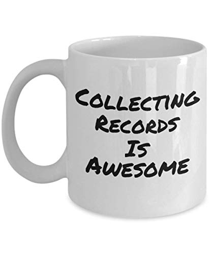 N\A Coleccionar Discos de Vinilo es increíble, Divertidas Tazas de té y café