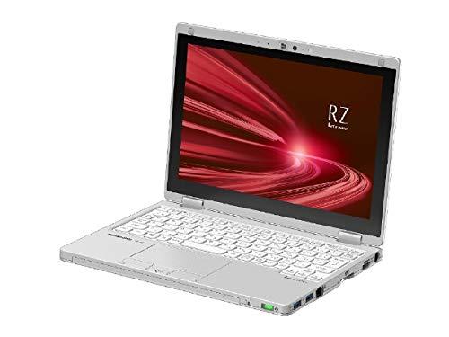 パナソニック ノートパソコン Let's note RZシリーズ シルバー CF-RZ8HDEQR