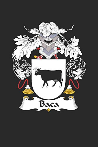 Baca: Baca Coat of Arms and Family Crest Notebook Journal (6 x 9 - 100 pages)