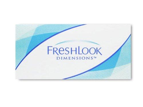 Freshlook Dimension 6er Box PazifikBlau (Dioptrien: 5.25 / Radius: 8.60 / Durchmesser: 14.50 / Farbe: See-Grün)