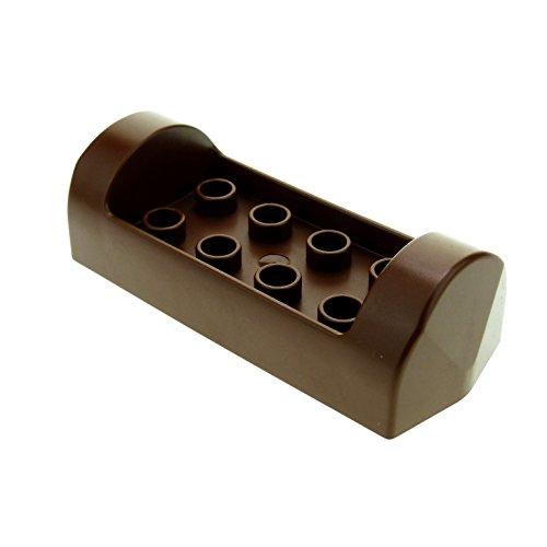 1 x Lego Duplo Baum Stamm braun 2x6 Sitz Bank Möbel Boot Dino Kanu Winnie Pooh Indianer Kajak Ruderboot 31069